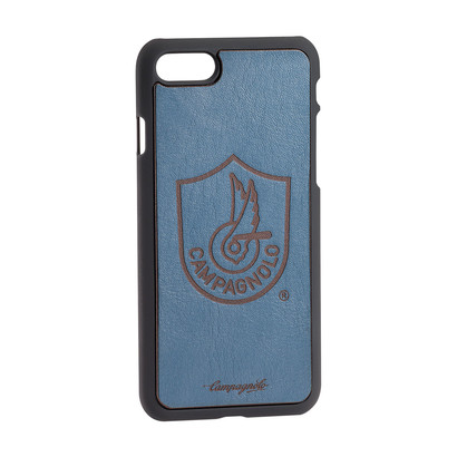 Blue leather cover for Iphones 7/8