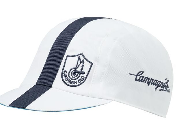 White Campagnolo cycling cap - Classic Edition  ad49ac46d