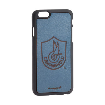 Cover in pelle blu per Iphone 6/6S