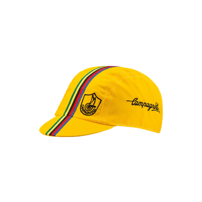 Yellow Campagnolo cycling cap - Classic Edition